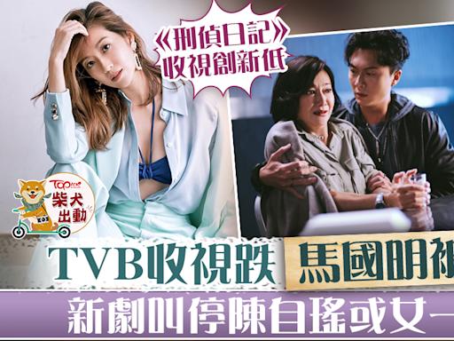 【兩台大戰】《刑偵日記》收視低導致新劇紛紛叫停 陳自瑤做女一機會受阻 - 香港經濟日報 - TOPick - 娛樂