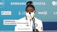 Simone Biles speaks about her mental health and decision to pull out of events before beam