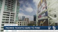 Padres tickets hard to come by for fans