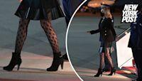 Jill Biden's fishnet stockings are receiving mixed reactions