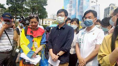 反空汙遊行 陳其邁:要求興達電廠燃煤機組提早1年除役