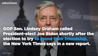 Lindsey Graham called Joe Biden after calling for an investigation into Hunter Biden