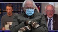 Bernie Sanders Reacts to Viral Inauguration Mittens Memes