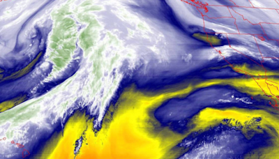 Much-needed precipitation to eye parched California