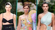 Gigi Hadid, Kendall Jenner, Amelia Hamlin & More Flaunt Fierce Looks On The NYFW Runway
