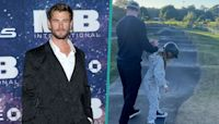 Chris Hemsworth Holds Hands With 9-Year-Old Daughter India As She Skateboards In 'Ultimate Family Workout'