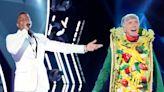 'Masked Singer' Alum Tom Bergeron Pokes Fun at 'Bachelorette' Suitor Dale Moss' Taco Costume