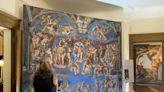 Michelangelo's famed Sistine Chapel is on display now in San Antonio