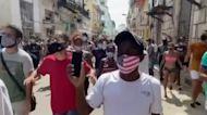 U.S. imposes sanctions on Cuban regime following violent crackdown