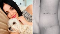What Does True Love Look Like? Lucy Hale Tattooing Her Dog's Name on Her Arm