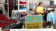 Tax-free weekend underway in Iowa