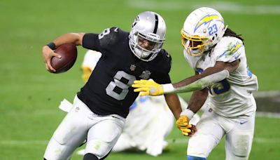Report: Trade talks have slowed for Raiders QB Marcus Mariota due to contract incentives