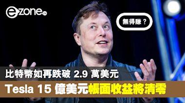 【無得賺?】比特幣跌破 2.9 萬美元!Tesla 15 億美元帳面收益將秒清零 - ezone.hk - 科技焦點 - 電腦
