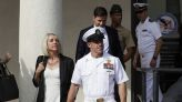 The Latest: Navy SEAL acquitted of murder says he's grateful