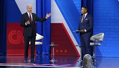 Biden loses train of thought during town hall when asked about vaccinating children