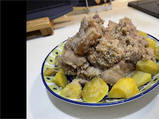 邱澤最愛「粉蒸肉」 4個步驟端上桌