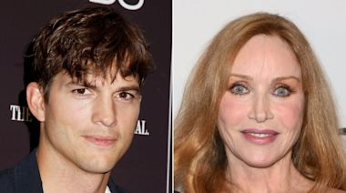 Ashton Kutcher Informs 'That '70s Show' Costars Tanya Roberts Isn't Dead