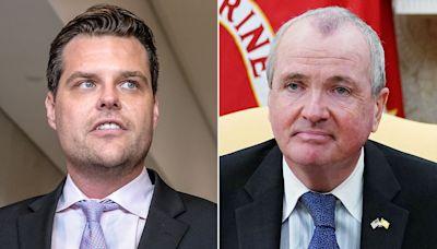 NJ Gov. Phil Murphy Slams Congressman Matt Gaetz for Attending Maskless Secret Party in the State