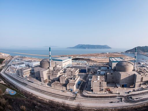 核燃料棒破損,中國台山核電廠 1 號機關閉檢修