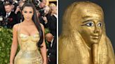 Kim K's Met Gala pic 'helped solve case of missing $4M gold Egyptian coffin'