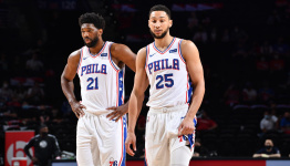 Sixers' Ben Simmons thinks career is 'better off' without Joel Embiid, per report