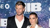 Chris Hemsworth, 37, PDAs With Wife Elsa Pataky While Partying With Brother Liam — See Pics