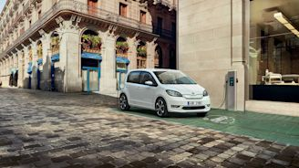 Skoda unveils first all-electric compact car
