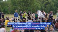 Lin-Manuel Miranda Is Proud 'Hamilton' Has a Link to Anti-Racism Protests
