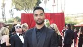 Regé-Jean Page Attends First Emmys in Custom Giorgio Armani