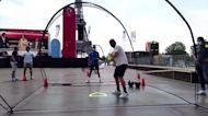 WEB EXTRA: Olympics Fans Watch Opening Ceremony Near Eiffel Tower