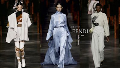 2022春夏時裝周系列報導:踏著強勢步伐,Fendi 無所畏懼的的自信本色 - The Femin