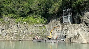 下層分層取水工程完成 石門水庫不怕濁度上升