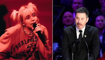 Billie Eilish calls out Jimmy Kimmel for making her look 'stupid' in interview when she was 17