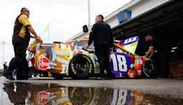 Wild weather played a role in Sunday's NASCAR Hollywood Casino 400 at Kansas Speedway