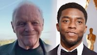 Anthony Hopkins Reacts to Beating Chadwick Boseman at 2021 Oscars: Why He Wasn't There for Win