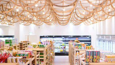 「未來超市」在這裡!美濃農會超市大變身,國產材烘托家鄉味成永續時尚