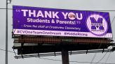 This time, Middletown Schools using billboards for positive messages