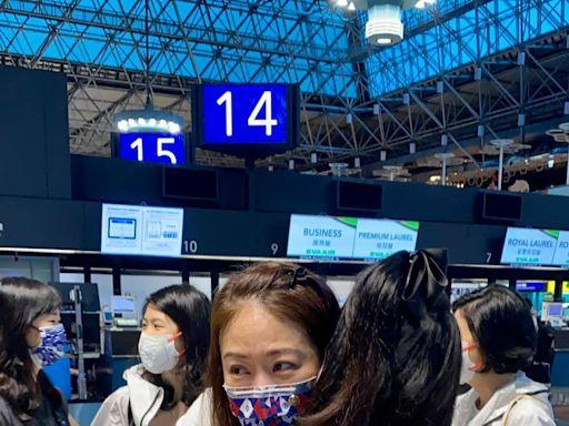 賈永婕送女兒出國機場暴哭 自曝出發前母女倆還大吵一架