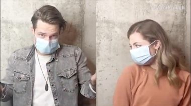 Couple creates music video to promote public safety during the pandemic