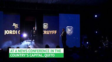 Jordi Cruyff excited for Ecuador challenge