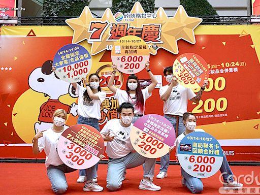南紡週慶25%震撼回饋 三井Outlet永豐卡5%