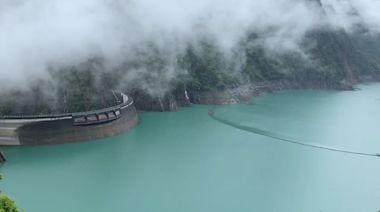 山區降雨趨緩 德基水庫蓄水率仍突破60%
