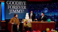 Chris Pratt's hilarious retirement party for Jimmy Kimmel