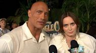 Emily Blunt Pokes Fun At Dwayne Johnson For Coming 'On Way Too Strong' For 'Jungle Cruise' Role