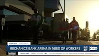Kern in Back in Business: Mechanics Bank Arena in need of workers