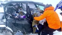 Ultramarathon runners rescued from near-whiteout snow in Utah