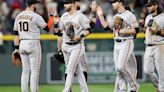 100 wins a 'big deal,' but Giants have eyes on bigger prize