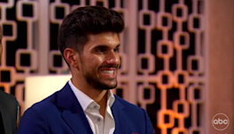 'Bachelorette' contestant sent home after his creepy pre-planned playbook is exposed