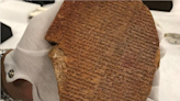 Hobby Lobby's forfeited Gilgamesh tablet to be returned to Iraq Thursday