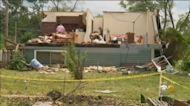 Clean Up In Woodridge After Tornado